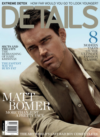 Matt Bomer, Details Magazine May 2014 http://chicentral.net